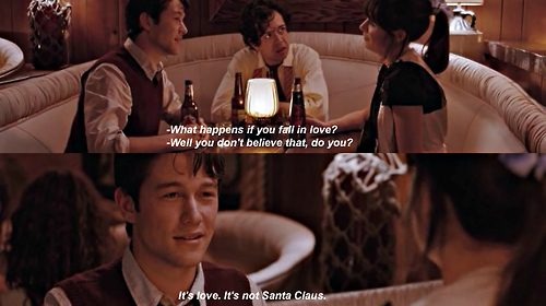 What Actually Happens When You're in Love?; From 500 Days of Summer
