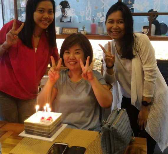 Birthday Treats di Yimo Korean Restaurant, Sanur