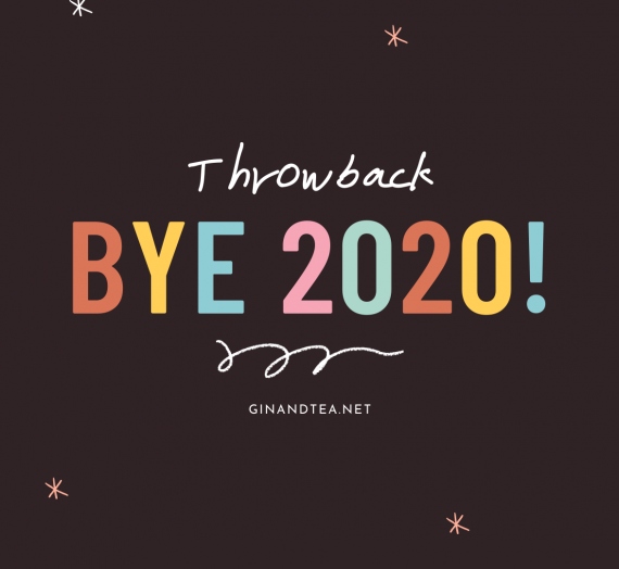 Bye 2020! Not My Best Year, But I've Learnt A Lot.